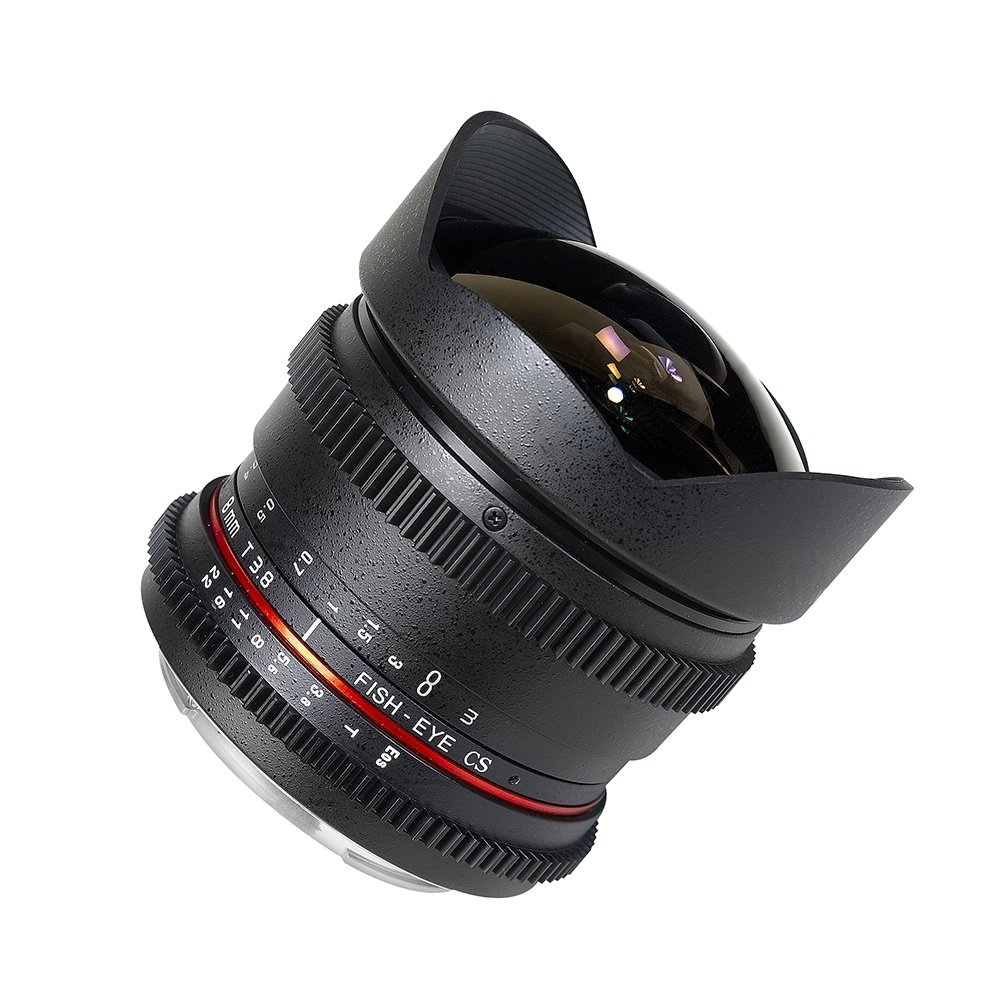 Cine HD Fisheye Lens with Removable Hood