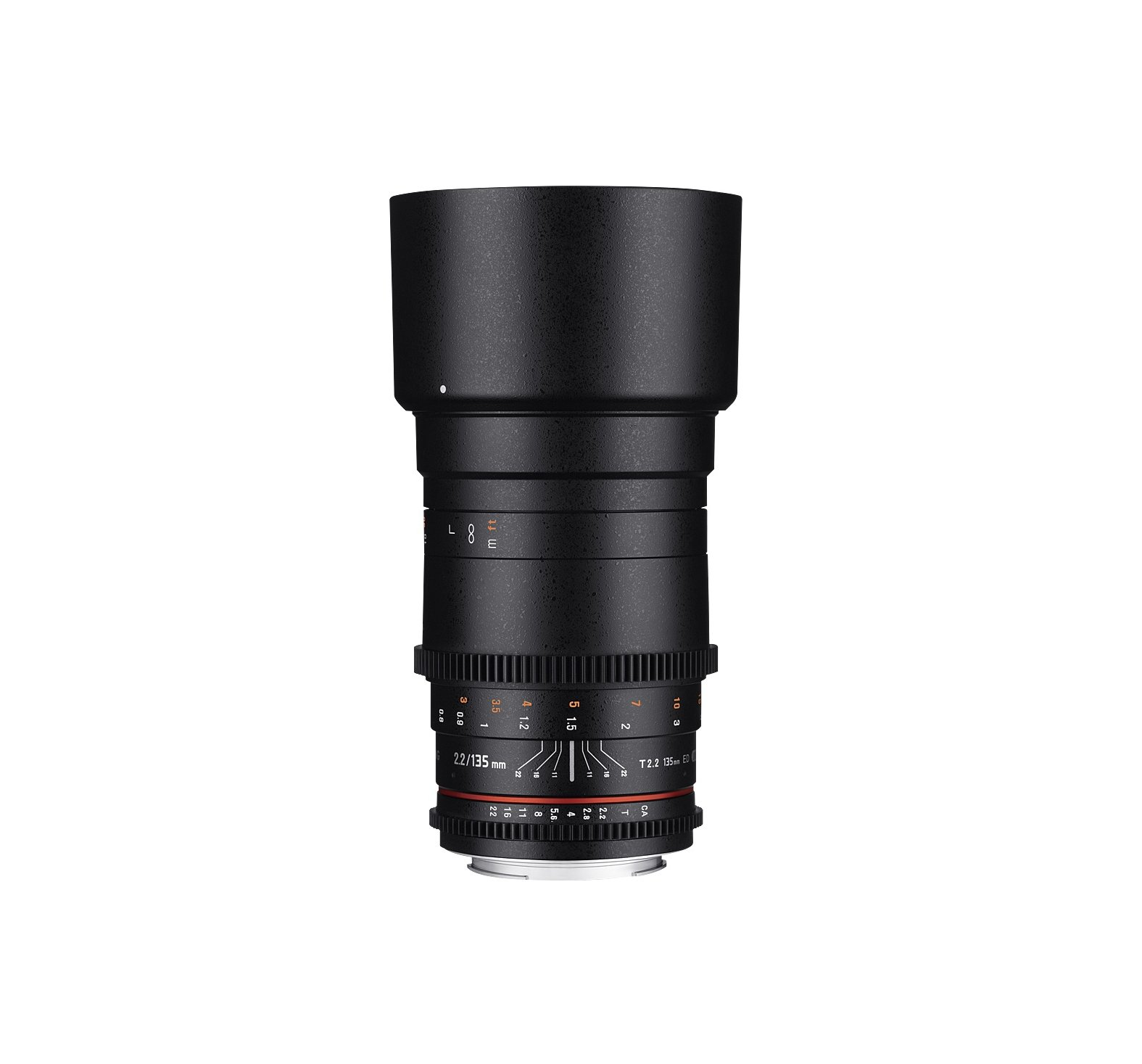 Rokinon Cine DS 135mm T2.2 Telephoto Cine Lens