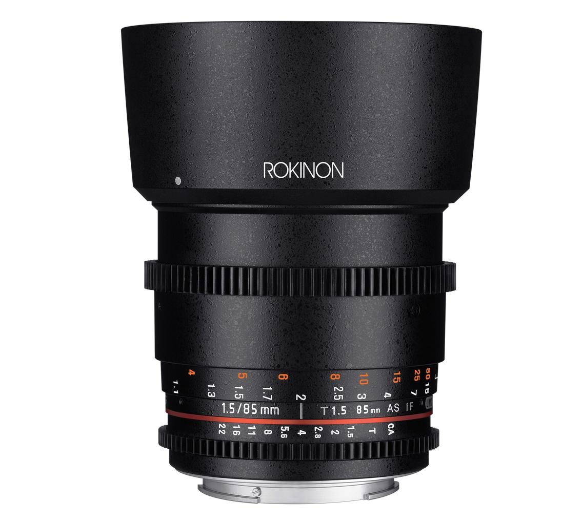 Rokinon 85mm T1.5 Full Frame Cine DS Lens DS85M