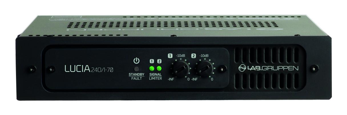 Commercial amplifier, 240W