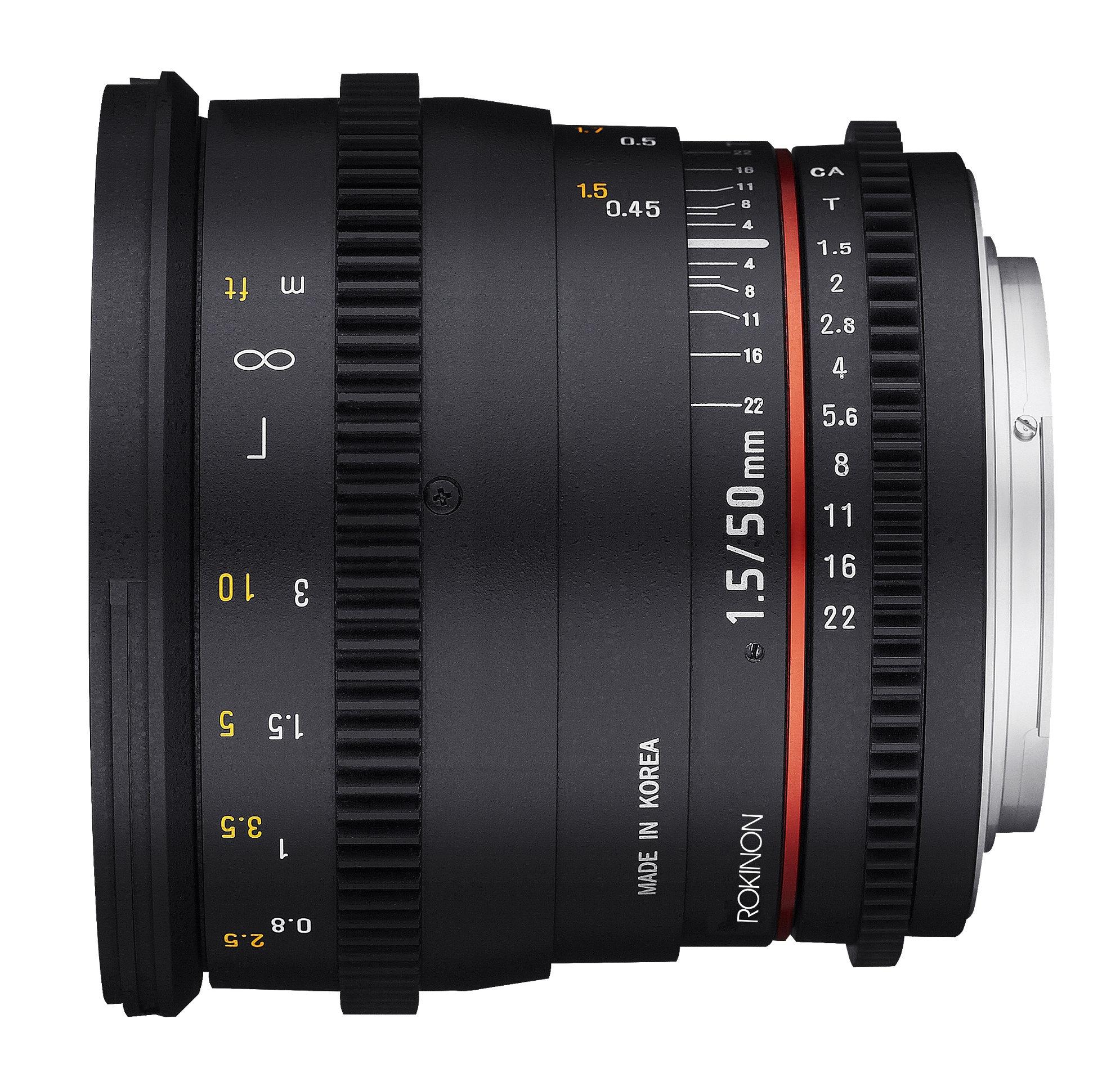 Full Frame Cine DS Lens