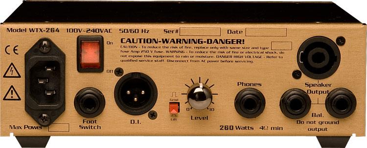 260W Bass Amplifier Head