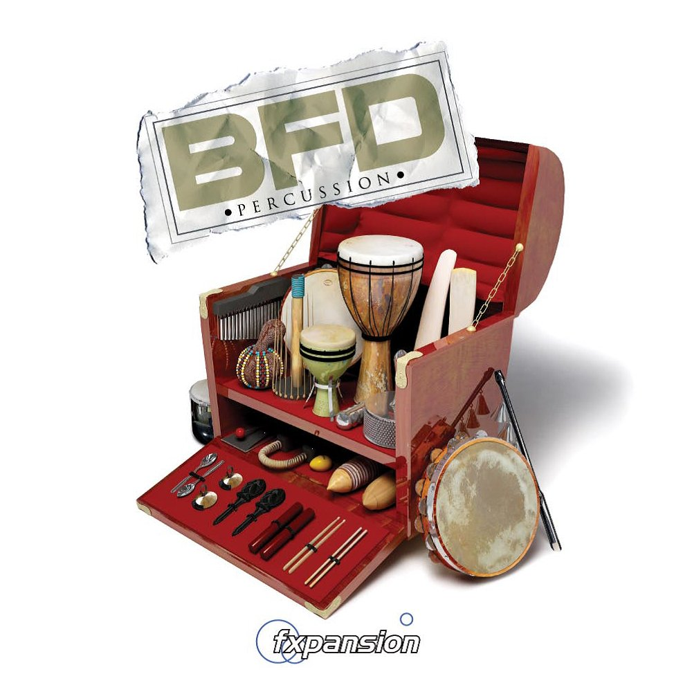 Percussion Expansion Pack for BFD3, BFD Eco, or BFD2 (VIRTUAL)