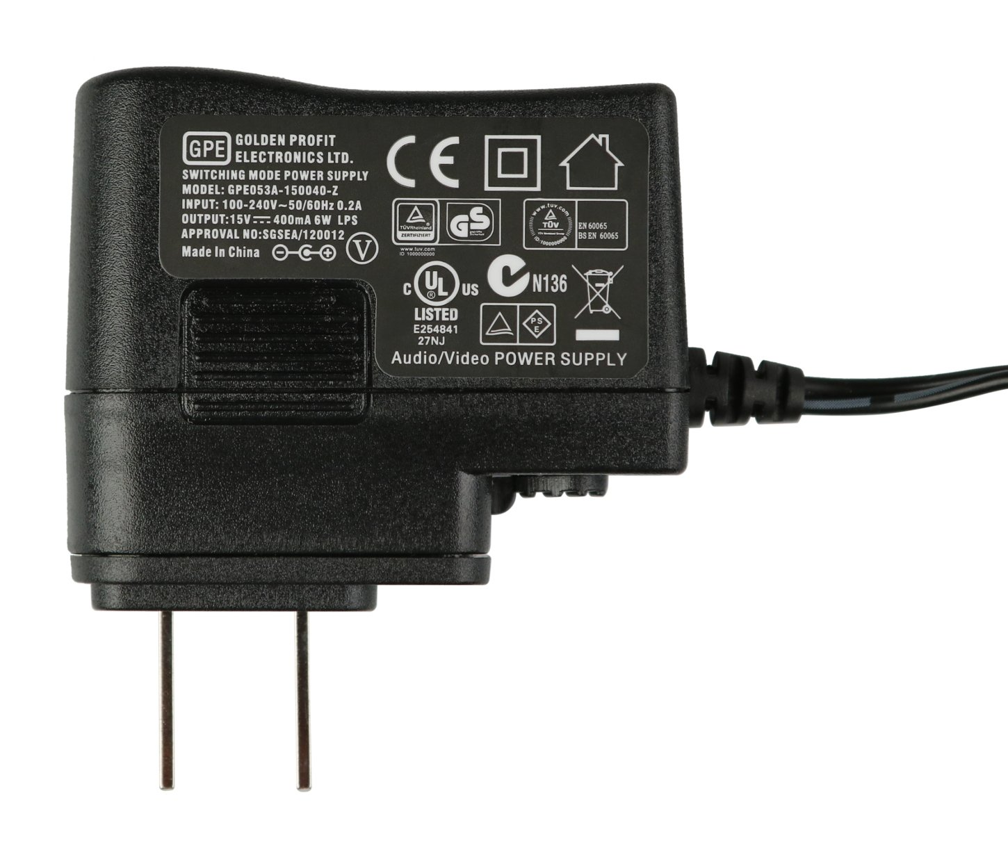 15V Power Supply for Microtour