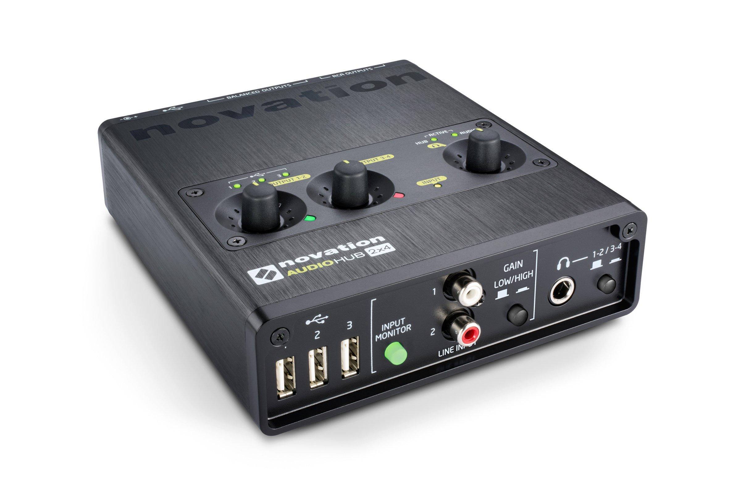 Compact Audio Interface & USB Hub