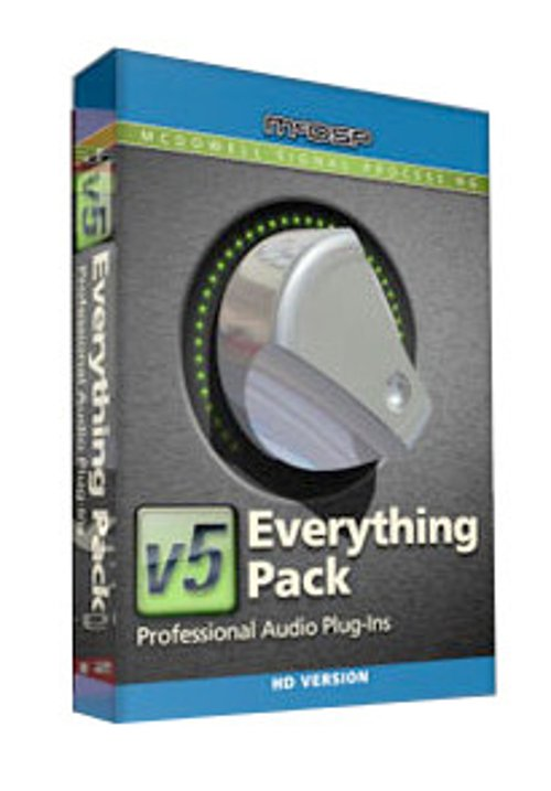 McDSP Everything Pack HD Plugin Bundle EVERYTHING-PACK-HD