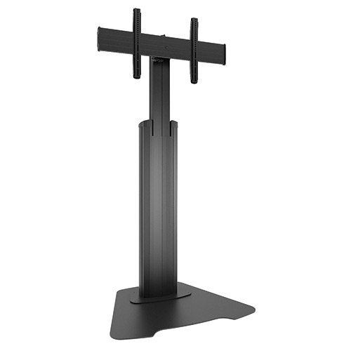 Chief Manufacturing LFAUB  Large Fusion Manual Height Adjustable Floor AV Stand LFAUB