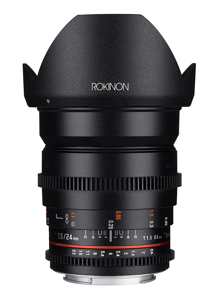 Full Frame Wide Angle Cine DS Lens