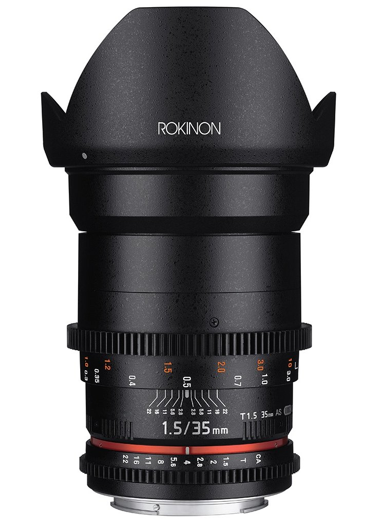 Full Frame Wide Angle Cine DS Lens
