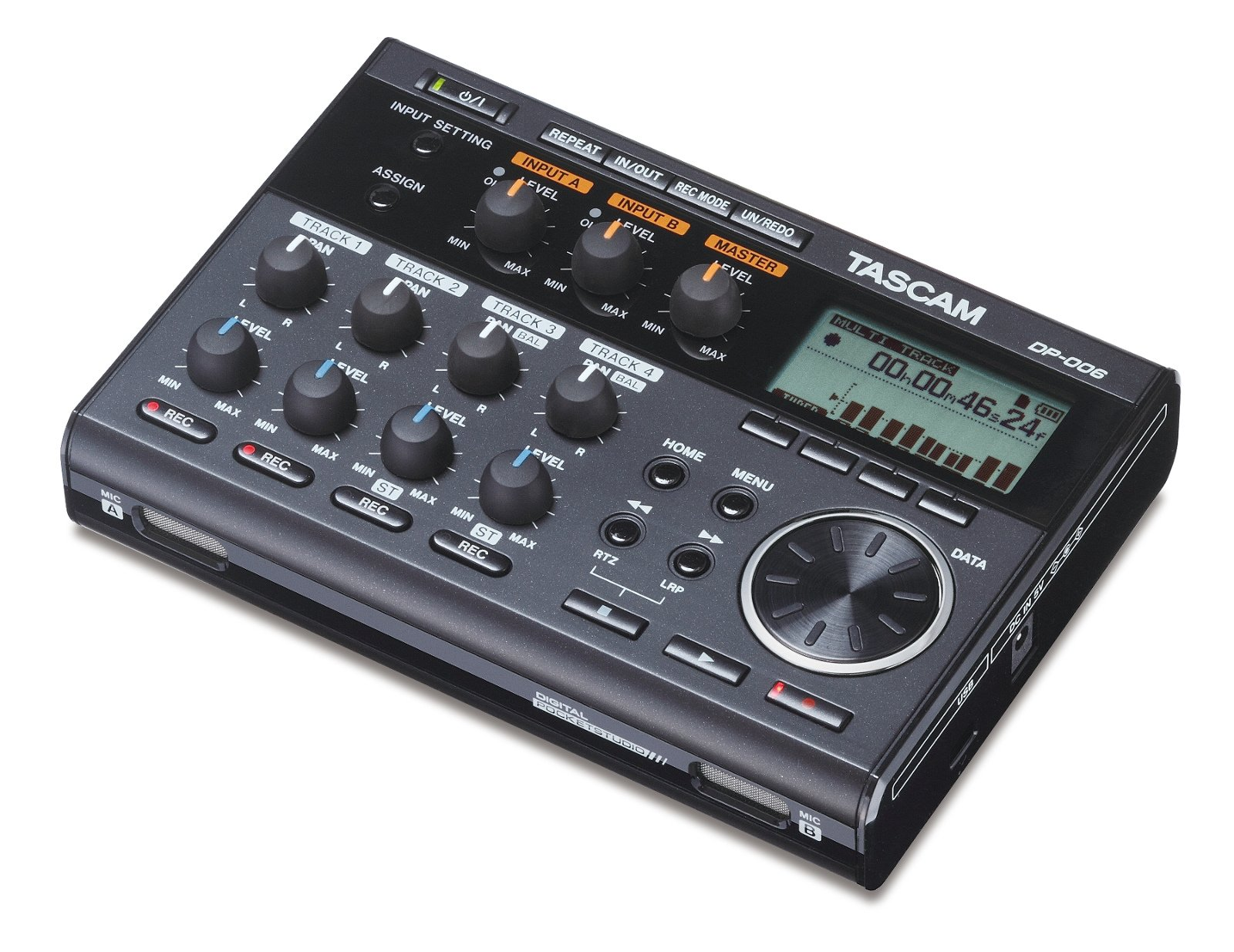 6-Track Digital Pocketstudio Recorder