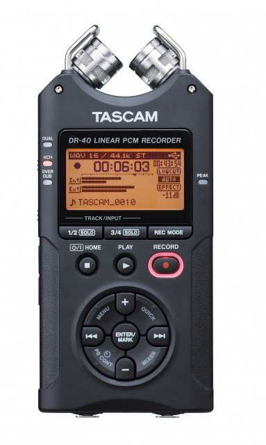 4-Track Mobile Digital Recorder