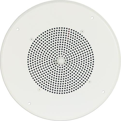 Ceiling Speaker with Bright White Grill