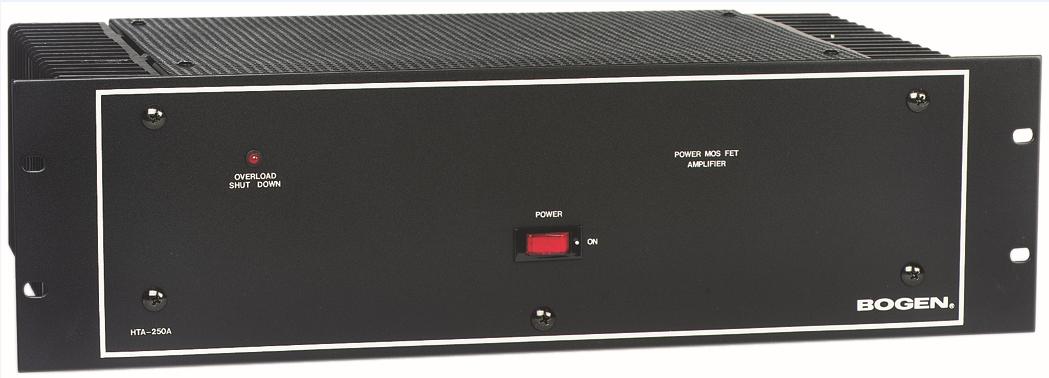 Power Amplifier, 125 Watt, 4-ohm/8-ohm/70V