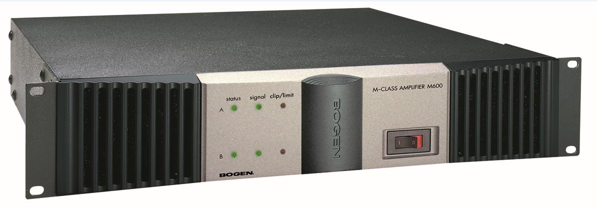 bogen communications m450 power amp stereo 450w ch 4 ohms. Black Bedroom Furniture Sets. Home Design Ideas