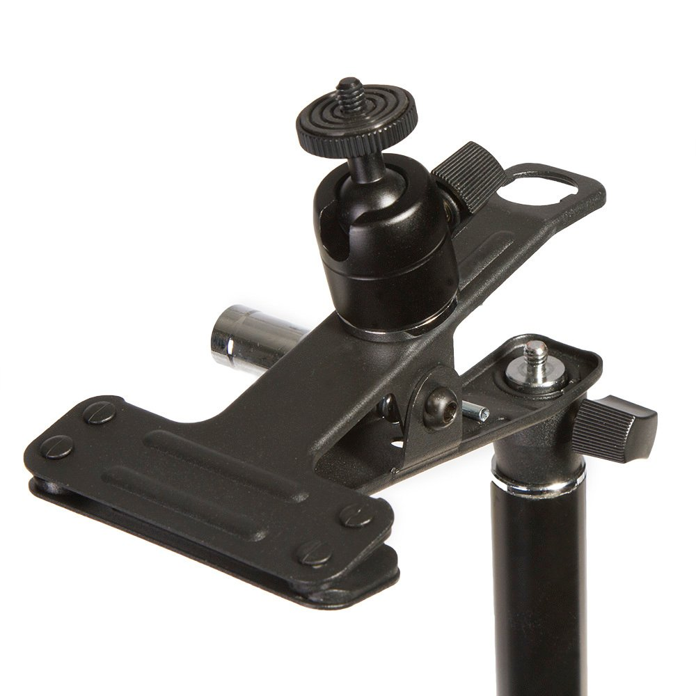 with EI-A05 Ball Head Stand Adapter