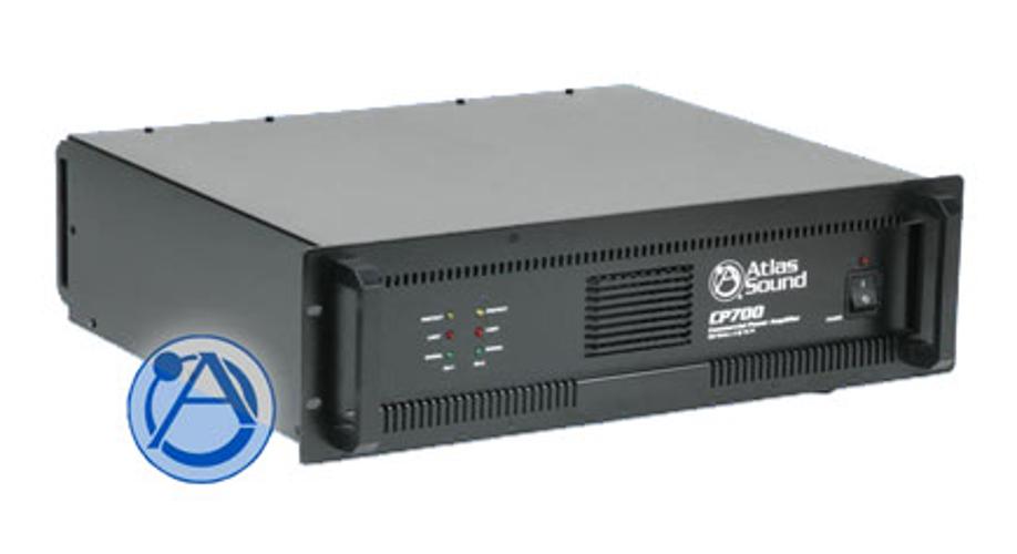 Power Amp, Dual Channel, 350W per Channel @ 70.7V; 400W per Channel @ 4 Ohms