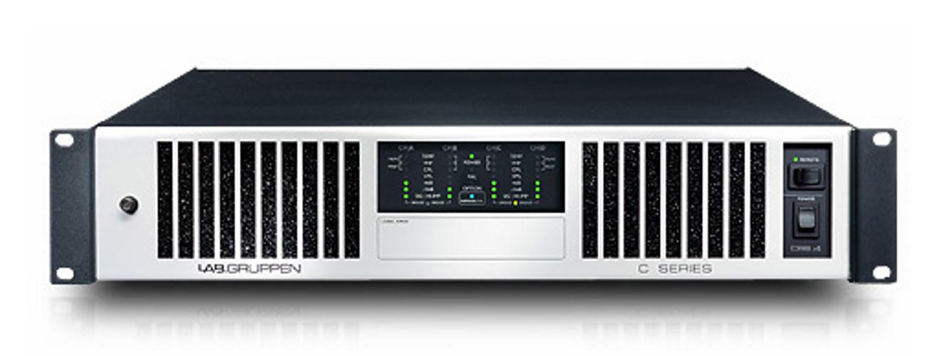 Amplifier 4ch 70v 1200w/ch-4-ohms