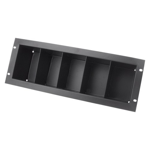 3RU Rackmount CD Storage Shelf, Holds 40 CDs