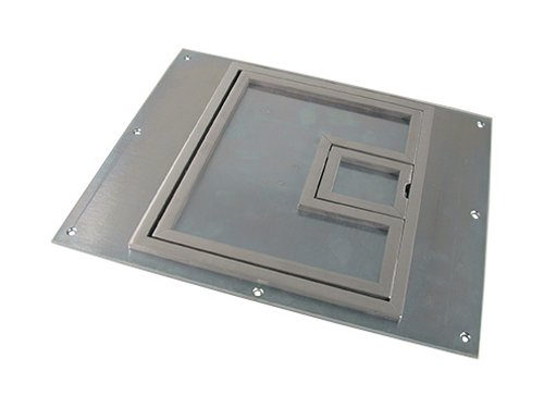 """FL-540P Full Access Lift Off Cover with 1/4"""" Square Aluminum Flange"""