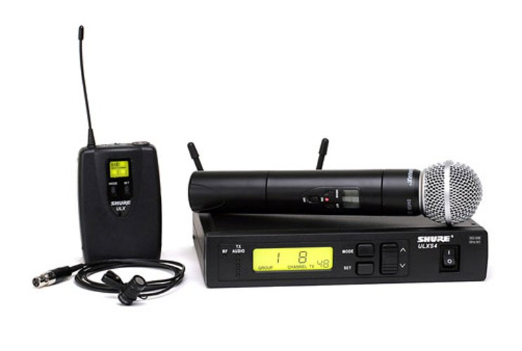 Combo System with SM58, WL185 Lav Mic