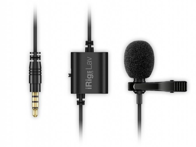 iRig Mic Lav for Smartphones & Tablets Lavalier Microphone f