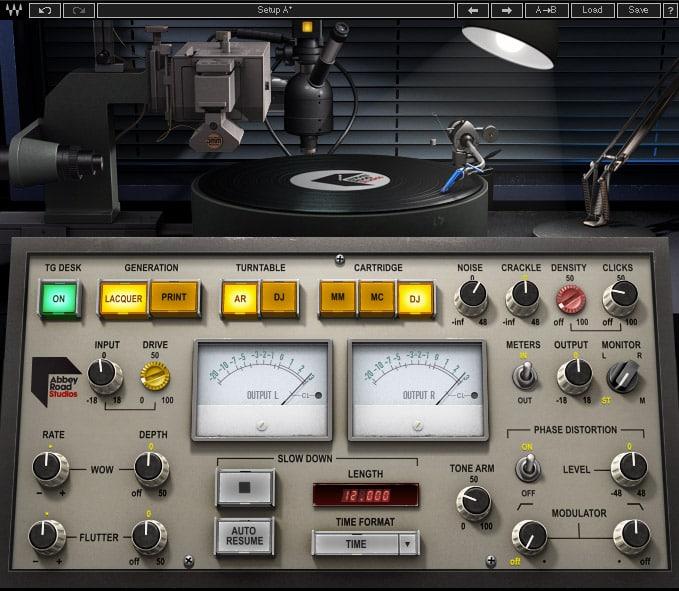 Vintage Sound Production Plugin