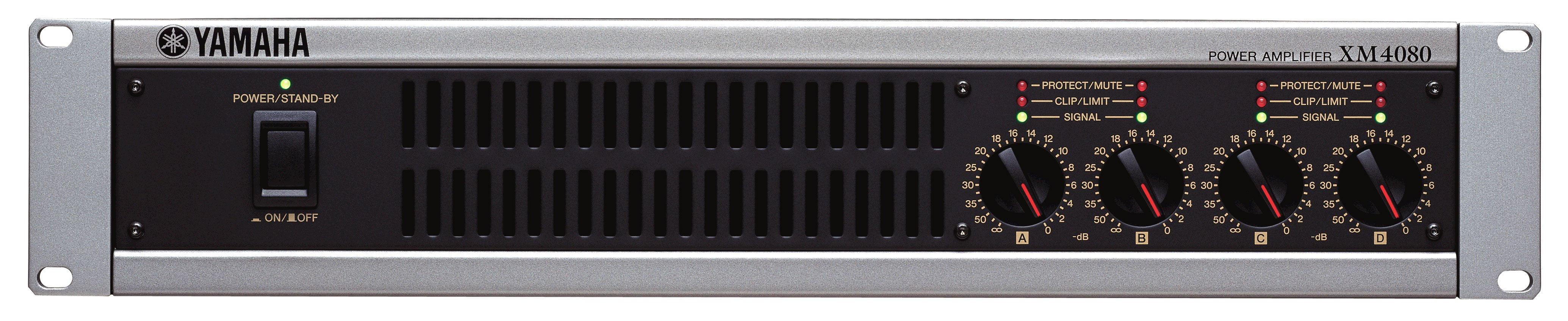 Yamaha XM4080 Amplifier 4-ch 115w 4-ohm 2u XM4080