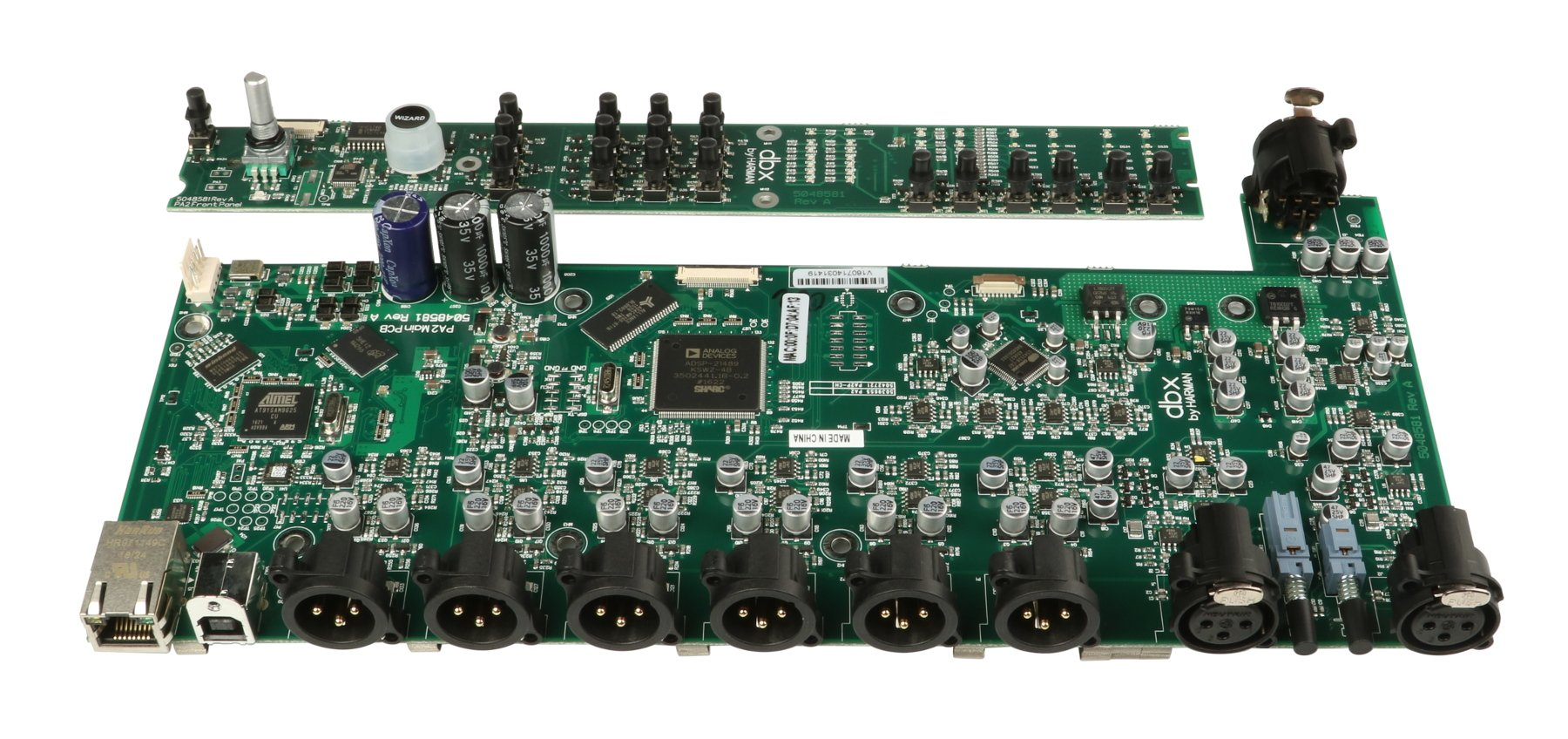 Main PCB for DriveRack PA2