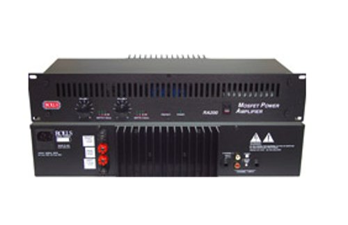 100 W RMS/Channel @ 4 Ohms Power Amplifier