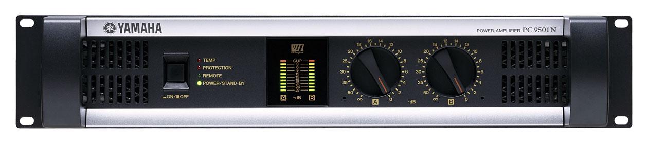 Yamaha PC9501N Power Amplifier, 925W + 925W (8 ohm Stereo)/4600W (4 ohm Bridged) PC9501N