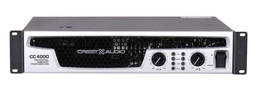 Amplifier 800/1350/2000W @ 8/4/2 ohms Stereo