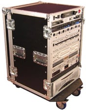 16RU Tour Style Rack Case (with 4 Casters)