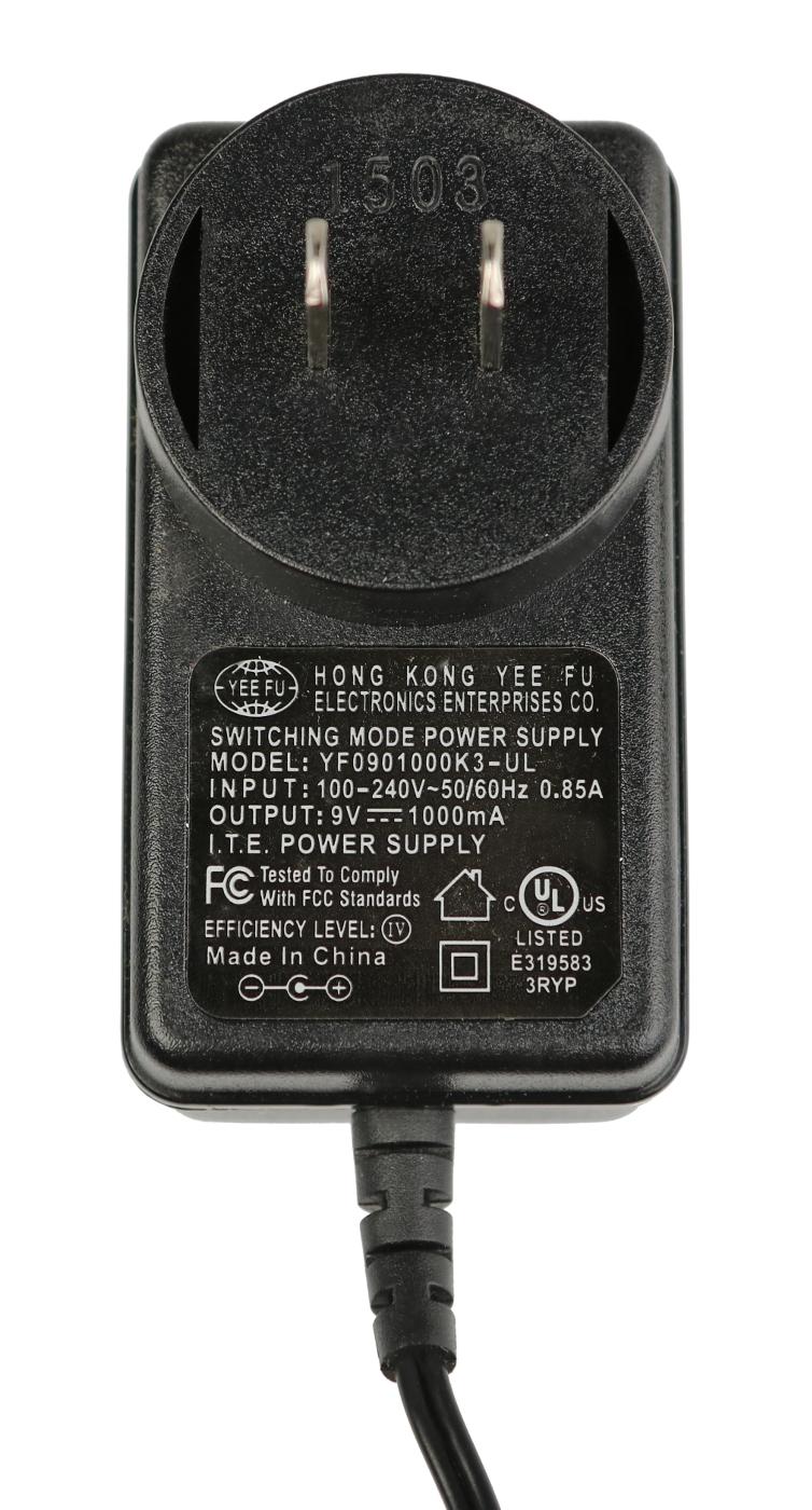 9V AC Adaptor for UHF-3205