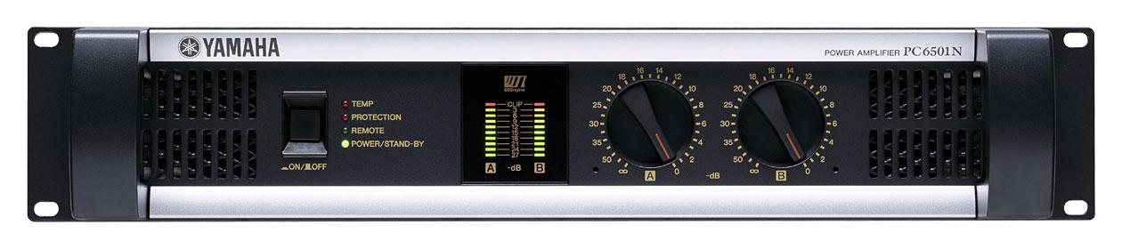 Power Amplifier, 650W + 650W (8 ohm Stereo)/3000W (4 ohm Bridged)