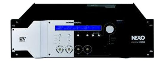 4x4 Powered TD Controller, 4x1900W @ 8 Ohms Max.