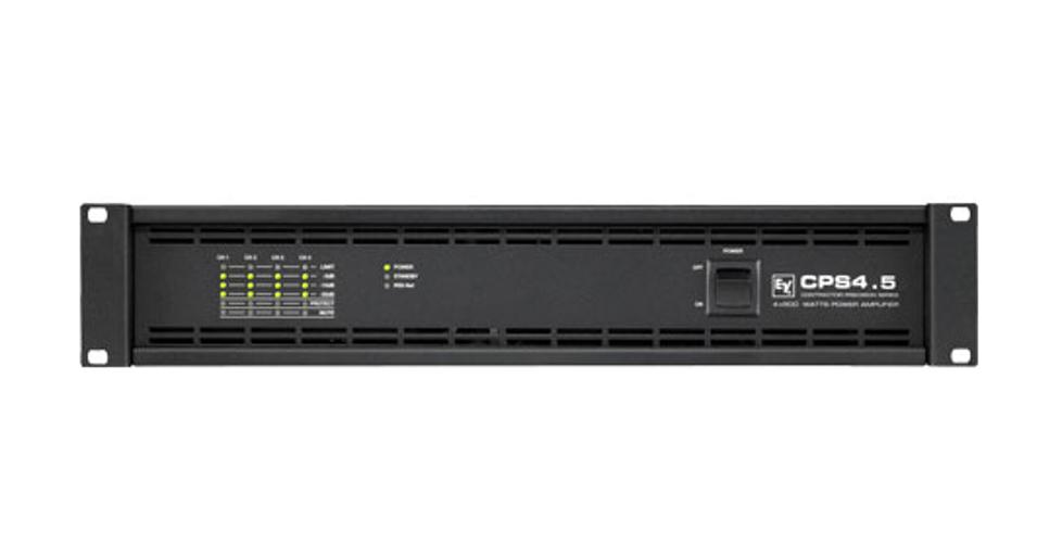 4 Channel, 500 watts @ 4 ohms Power Amplifier