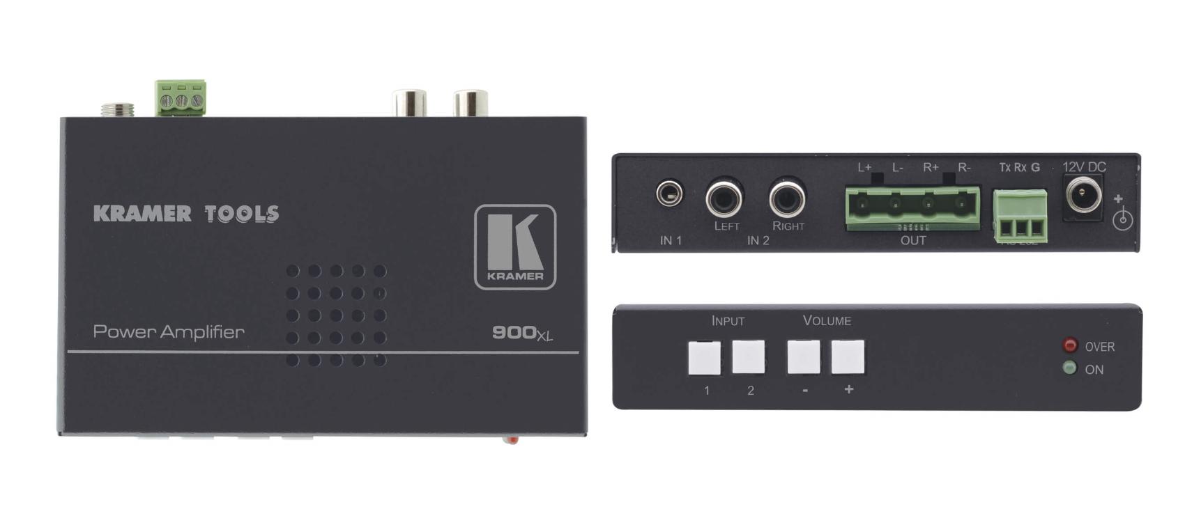 Stereo Audio Power Amplifier (10 Watts per Channel)