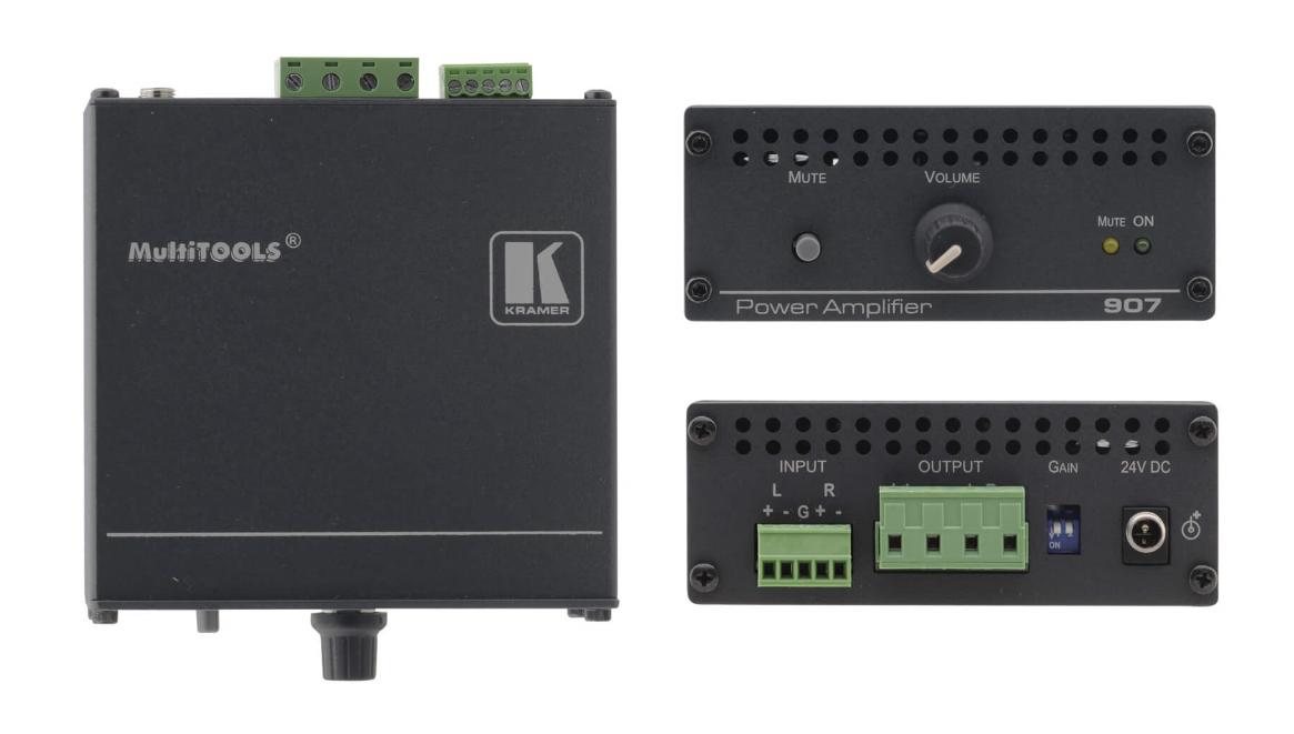 Stereo Audio Power Amplifier (40 Watts per Channel)