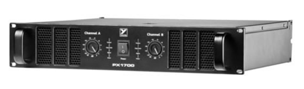 2x 600 W @ 4 Ohm Power Amplifier - 2RU