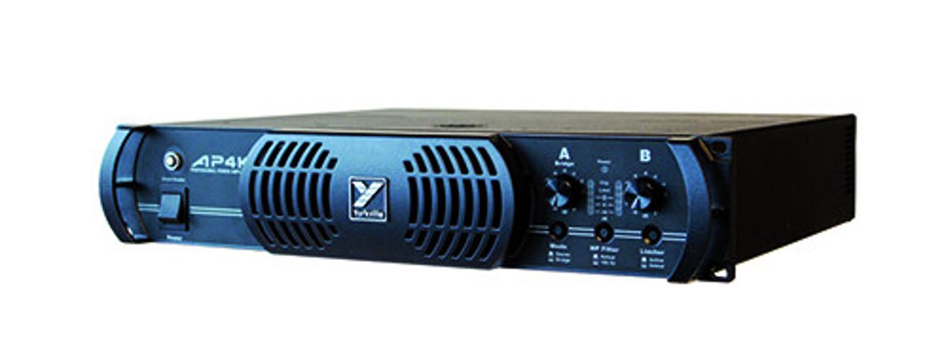 2RU AudioPro Stereo Power Amplifier - 1800W per Channel @ 2 or 4 Ohms