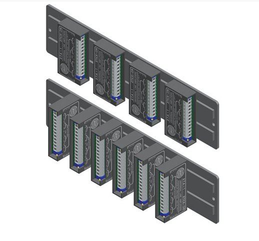 Mounting Strip for STICK-ON Units