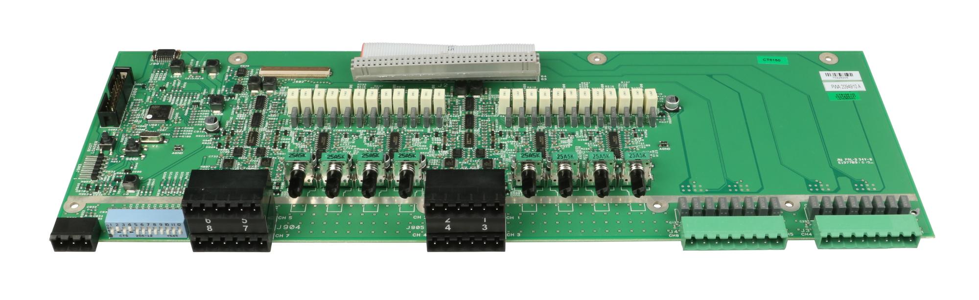 8-channel 120w I/O AV1 PCB for CT8150