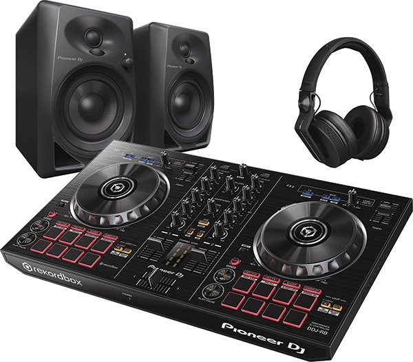 DJ Starter Pack with DDJ-RB, Monitors and Headphone