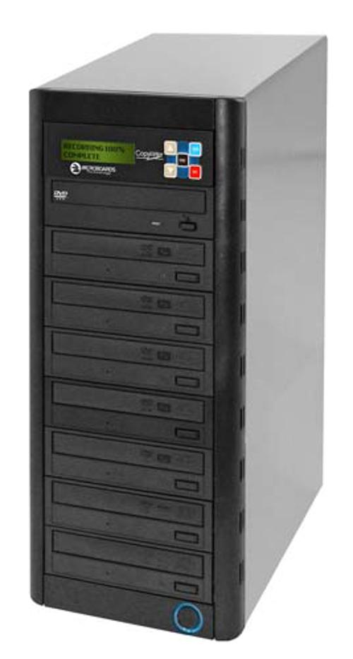 7-Bay DVD Duplicator with 250 GB Hard Drive