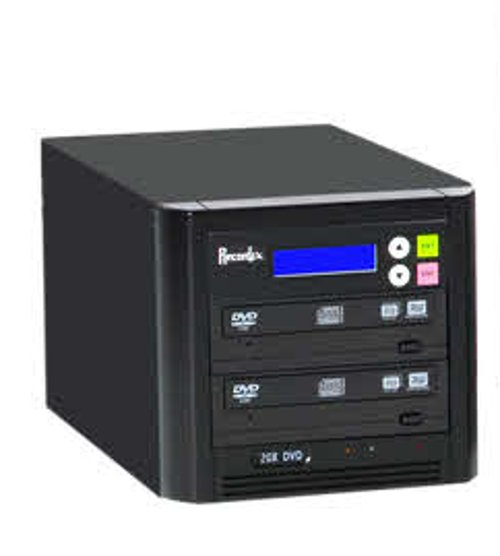 BD/CD/DVD Writer, 500 GB Hard Drive, 1 Target Drive