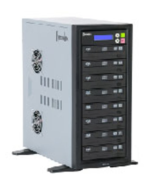 250 GB Hard Drive, DVD/CD Duplicator, 10 Bay