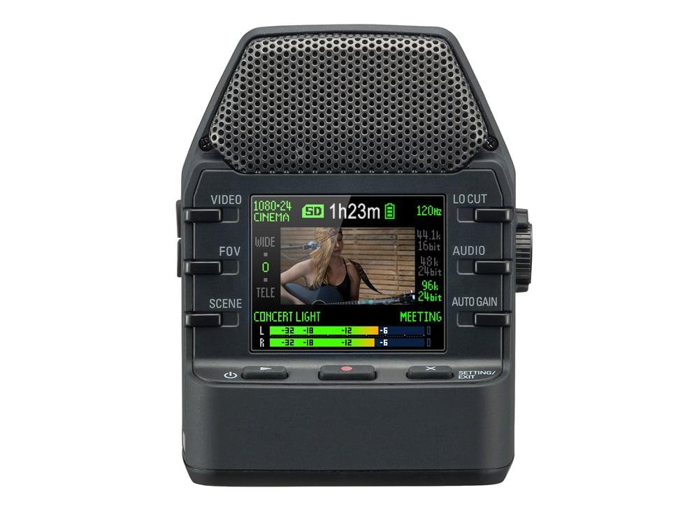 zoom q2n handy video recorder full compass. Black Bedroom Furniture Sets. Home Design Ideas
