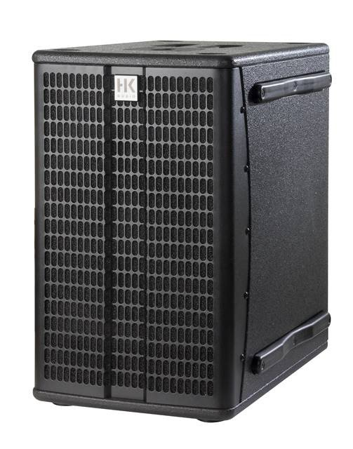Bi-Amped 600W + 600W Element Series Powered Subwoofer
