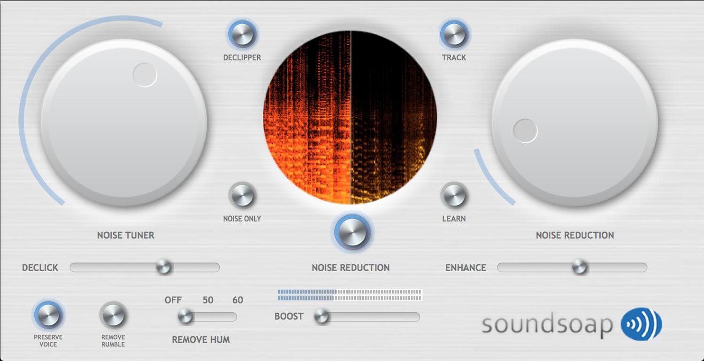 Antares SOUNDSOAP-5-PLUS SoundSoap+ 5 [DOWNLOAD] Noise Reduction Software  Plugin   Full Compass
