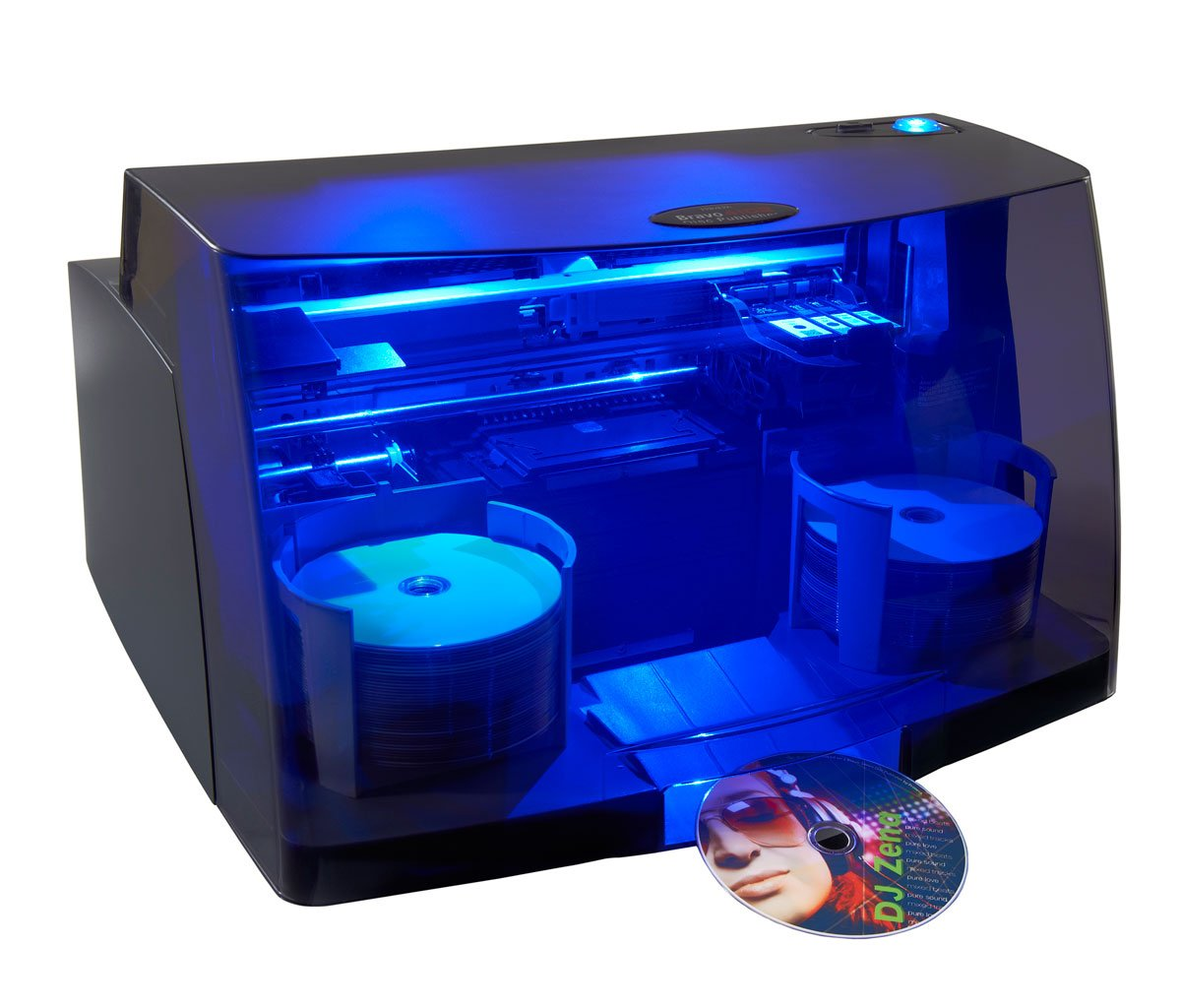 CD/DVD Publisher with 1 Recording Drive, 100 Disc Capacity